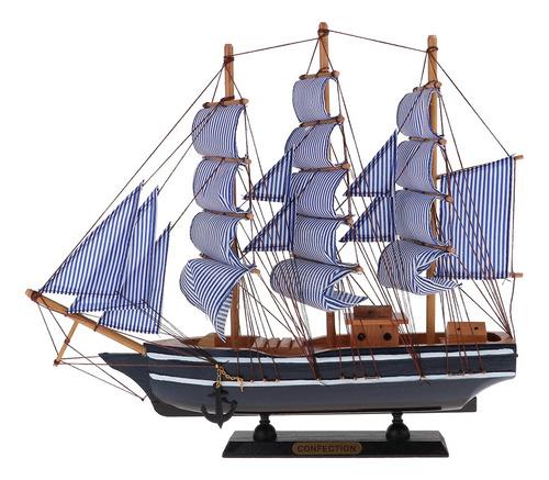 Modelo De Barco Pirata 360x85x410mm