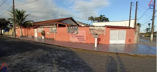 Imagem 1 de 15 de Casa Para Venda Em Mongaguá, Balneário Flórida Mirim, 2 Dormitórios, 2 Banheiros, 4 Vagas - 995_1-1892274