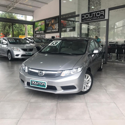 Honda Civic 1.8 Lxs 16v Flex 4p Automático 2013 / Civic 13