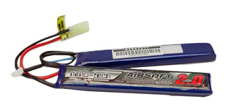 Batería Lipo Airosft Turnigy Nano-tech 7,4 2000 15~25c Split
