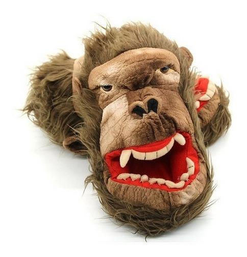 Pantufa Rampage Monstro Realista Gorila 3d Pronta Entrega