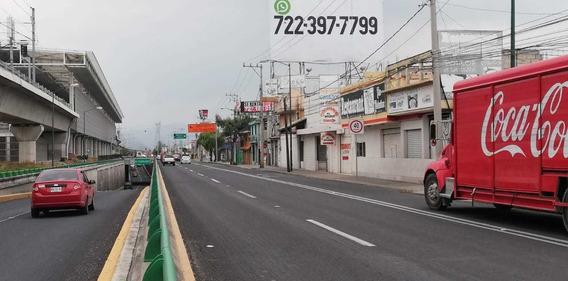 Terreno Comercial Cerca Tren Interurbano Av Tec Metepec