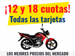 Moto Street Jianshe Js 126 6by 18 Cuotas 0km Urquiza Motos