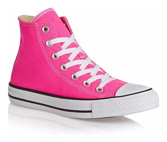 Zapatillas Mujer Botita Converse All Star Hi Rosa