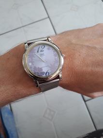 Relógio Q & Q Quartz Feminino Usado Funcionando Perfeitament