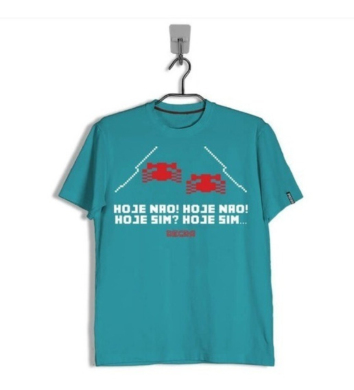 Camiseta Atari Enduro Hoje Nao
