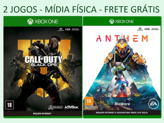 Call Of Duty Black Ops 4 + Anthem * Xbox One * Míd Fisica Nf