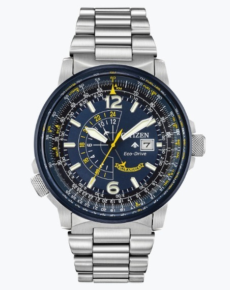 Relógio Citizen Promaster Nighthawk Blue (blue Angels)
