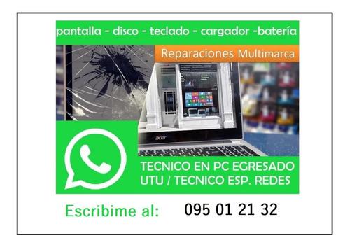 Técnico Laptop Notebook Egresado Reparación Pc Consulte
