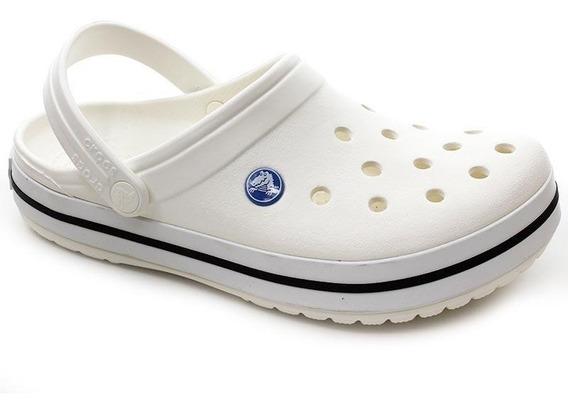 Chinelo Crocs Crocband Branco