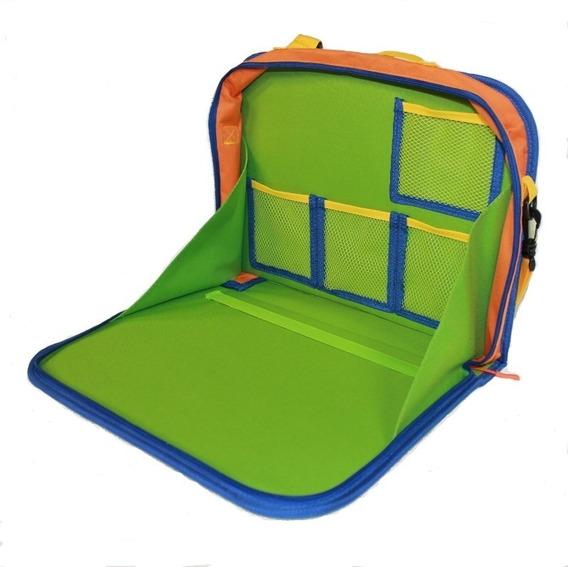 Organizador Infantil Carro Tropa Colorida Desenho E Tablet