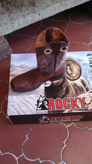 Botas Vaqueras Rocky