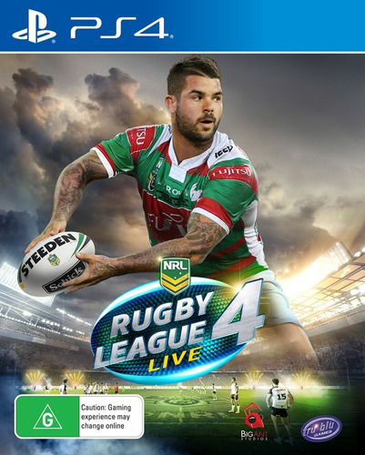 Ps4 Rugby League Live 4 / Fisico