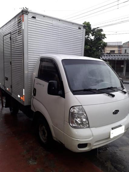 Kia Bongo K2500 Tci Turbo Com Baú