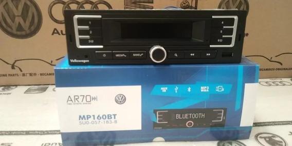 Radio Bluetooth Mp3 Usb Aux Gol Saveiro Voyage Original Vw