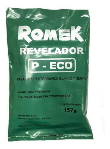 Imagen 1 de 2 de Revelador Romek P-eco Para Papel Fotografio Byn 157g (9368)