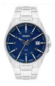 Relógio Orient Masculino Mbss1313 Aço Prata Com Nota Fiscal