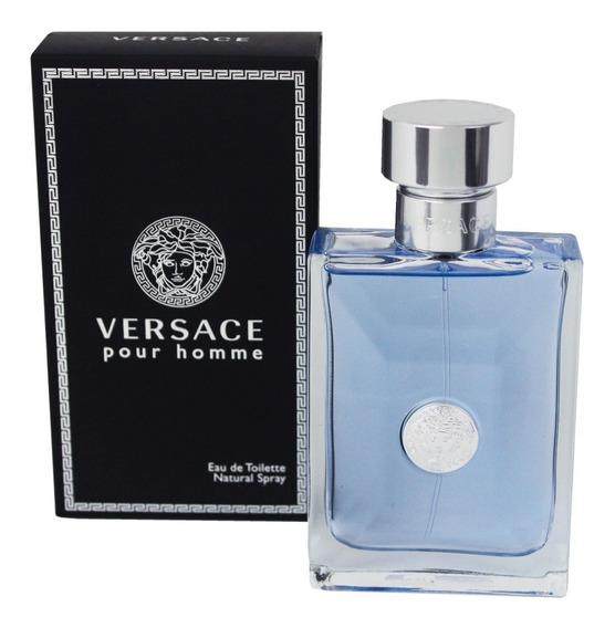 Perfume Versace Pour Homme Edt 200ml Original Frete Grátis