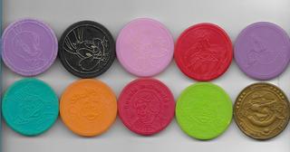 *sll* Lote 10 Master Tazos = 05 Elma Chips + 05 Mac Donalds