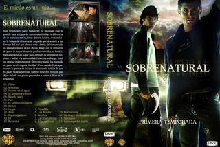 Supernatural Primera Temporada 1 Dvd