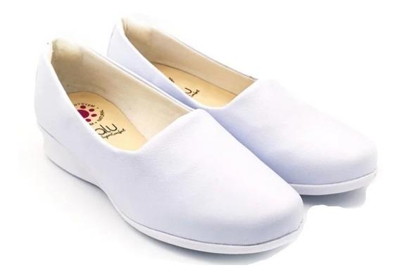 Sapato Branco Enfermagem Nr32 Ref1224