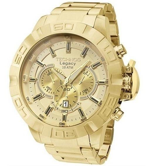 Relógio Masculino Technos Dourado Legacy - Js25ba/4x