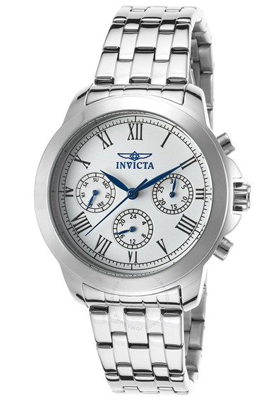 Reloj Hombre Invicta - Womens Quartz 37mm Stainless Steel