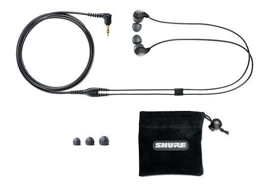 Fone De Ouvido Shure Se112-gr Cinza In-ear Com Bag