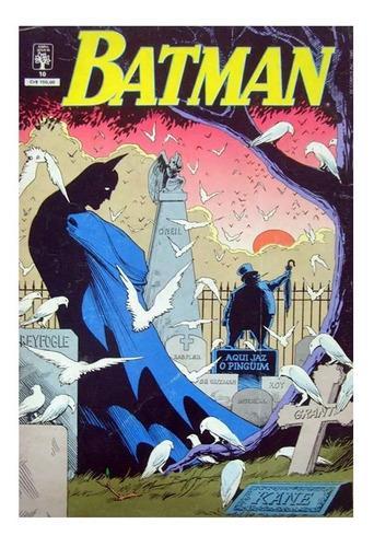 Batman 10 Dc Comics Abril Jovem 1990