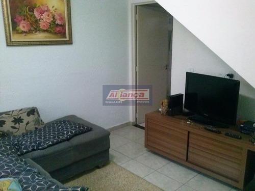 Sobrado Com 2 Dormitórios À Venda, 55 M² Por R$ 260.000 - Jardim Do Papai - Guarulhos/sp - Ai6355