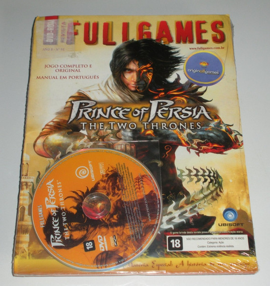 Prince Of Persia The Two Thrones ¦ Jogo Pc Orig Lac ¦ M Físi