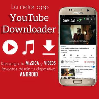 Youtube Downloader Videos Y Música Sólo Android Premiu