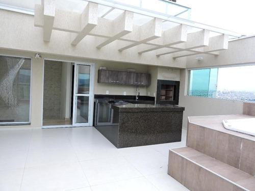 Imagem 1 de 20 de Cobertura Com 3 Dormitórios À Venda, 175 M² Por R$ 1.400.000,00 - Vila Galvão - Guarulhos/sp - Co0004