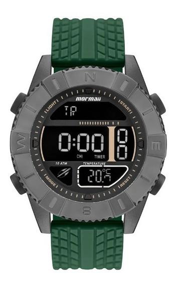 Relógio Mormaii Digital Sensor De Temperatura Mo5334ae/8c