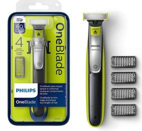 Barbeador Elétrico Philips Oneblade Qp2530 Com 4 Pentes