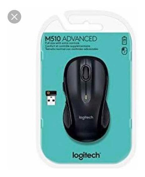 Mouse M510 Logitech Novo Lacrado