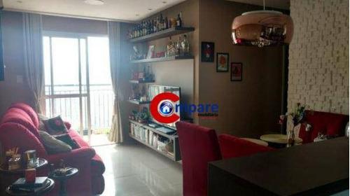 Imagem 1 de 17 de Apartamento Com 2 Dormitórios À Venda, 51 M² Por R$ 375.000,00 - Macedo - Guarulhos/sp - Ap7162