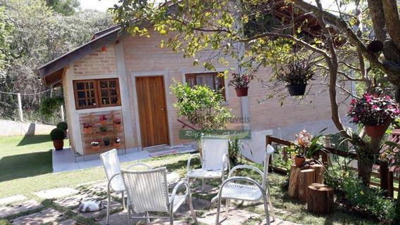 Chácara Com 3 Dormitórios Para Alugar, 1444 M² Por R$ 2.000,00/mês - Zona Rural - Santo Antônio Do Pinhal/sp - Ch0089