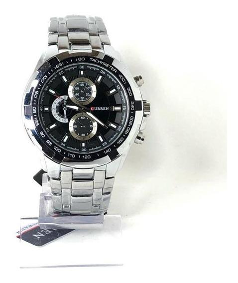 Relógio Curren 8023 Masculino Aço Inoxidável