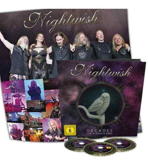 Nightwish: Live In Bs As Earbook Exclusivo. ( Delain )