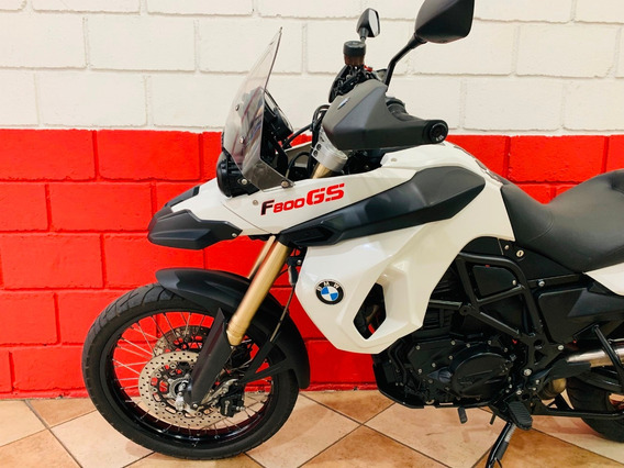 Bmw F800 Gs - 2012 - Branca - Financiamos - Km 34.000