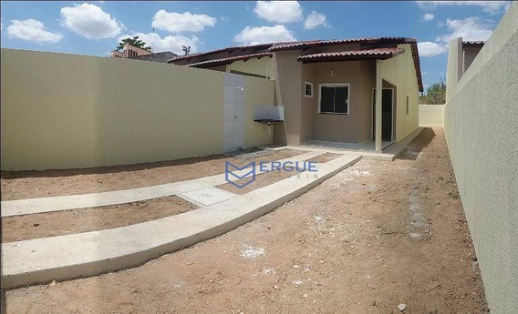 Casa Residencial À Venda, Pavuna, Pavuna (pacatuba). - Ca0409