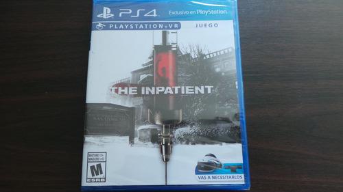 Imagen 1 de 2 de The Inpatient Vr Ps4 Nuevo Sellado