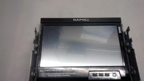 Tela Display+touch Do Dvd9485 Napoli/com Placa E Flat