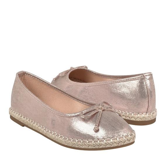 Zapatos Casuales Para Dama Furor 11148 Oro