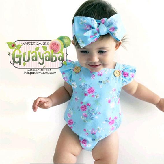 Body Bodysuit Braguita Cintillo Bebé Niña @variedadesguayaba