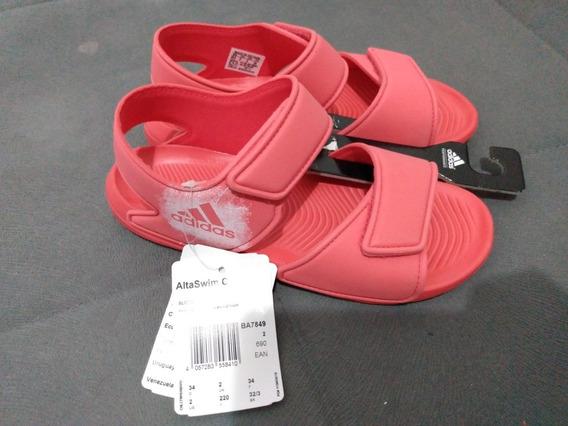 Sandália Infantil adidas 32/33 Altaswim C