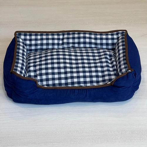 Imagen 1 de 5 de Cama Mascota 65cm X 50cm Azul