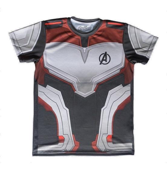 Playera Mascara De Latex Quantum Suit Avengers Endgame
