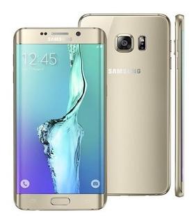 Samsung Galaxy S6 Edge+ 32gb G928 Dourado Original Vitrine